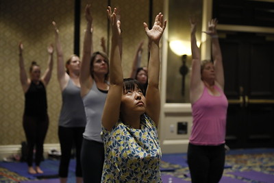 Move your mind body and soul live at IMEX America
