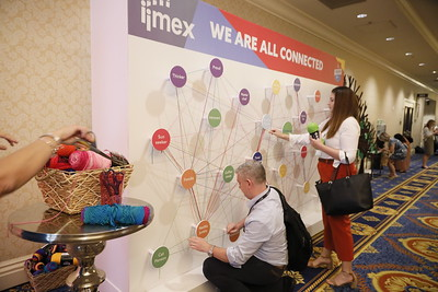 We are all connected at IMEX America