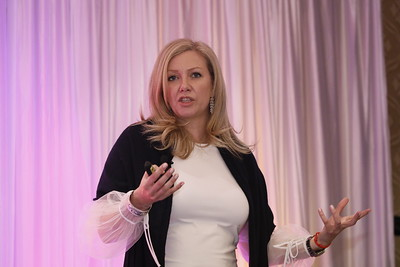 Dr. Mara Catherine Harvey, Head Global UHNW Germany, Austria, Italy, UBS Switzerland AG - keynote at She Means Business