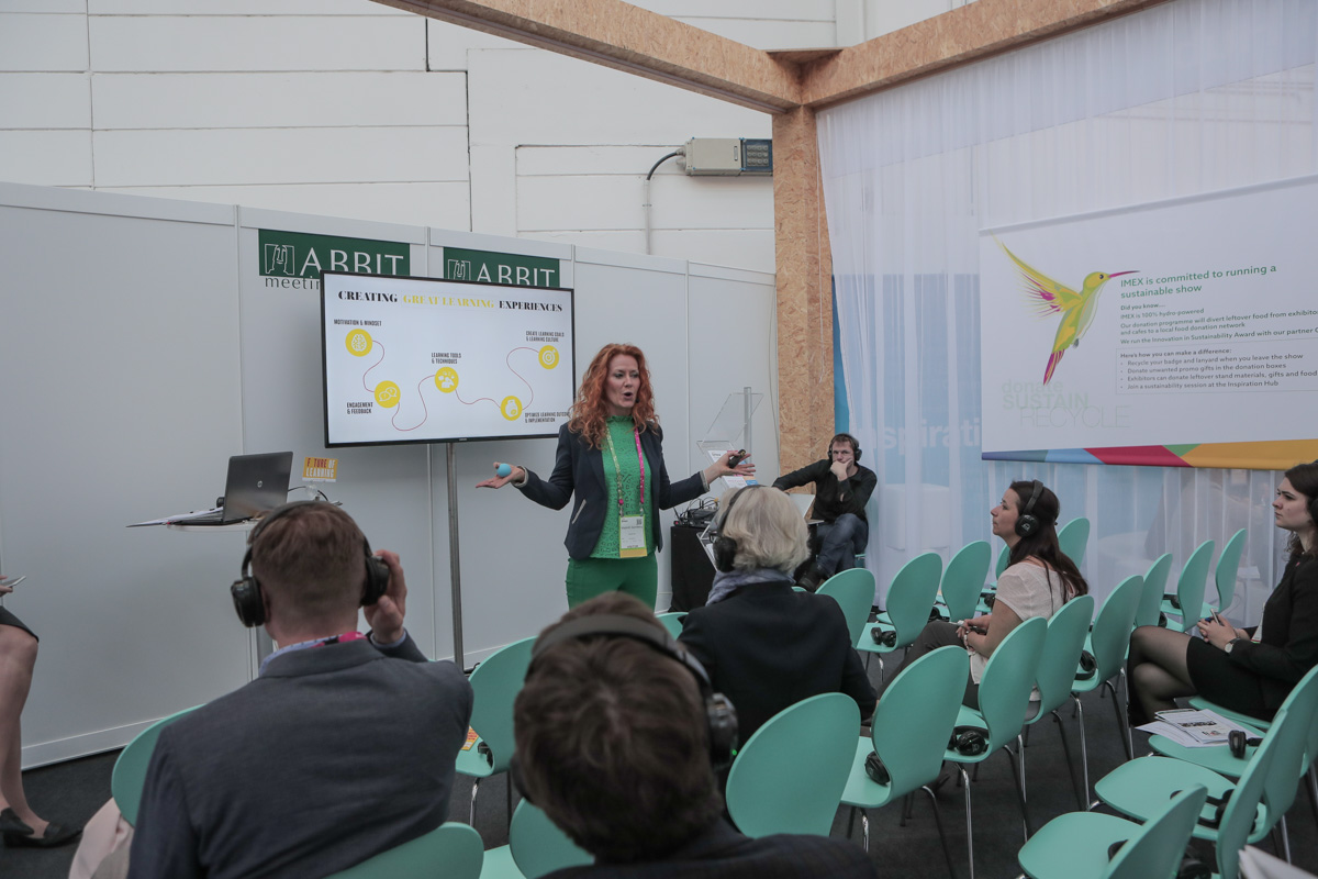 A seminar at the Inspiration Hub