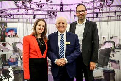 Carina Bauer, CEO, Ray Bloom, Chairman, IMEX Group and Martin Enault, Chief Operating Officer, C2