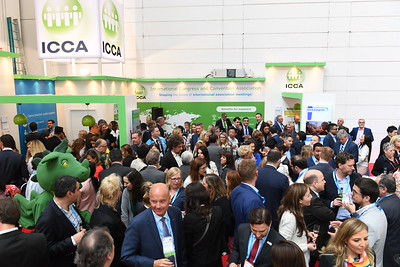 ICCA Stand Reception
