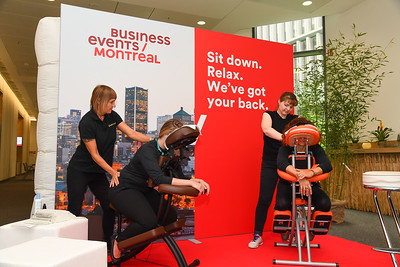 Massages by Montreal at EduMonday