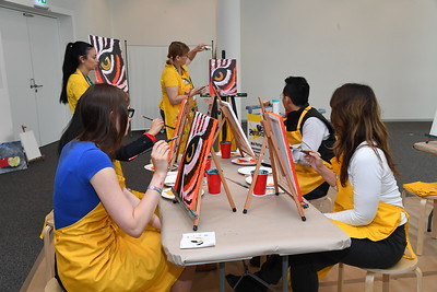 Painting Party at EduMonday