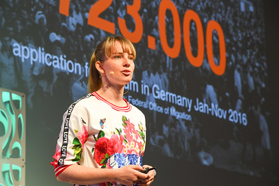 EduMonday She Means Business Keynote, Anne Kjaer Riechart, CEO & Co-Founder, ReDI School of Digital Integration