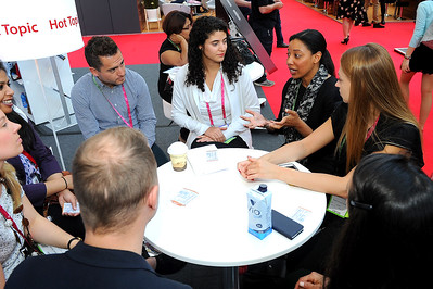 A Hot Topic Table session at the Inspiration Hub