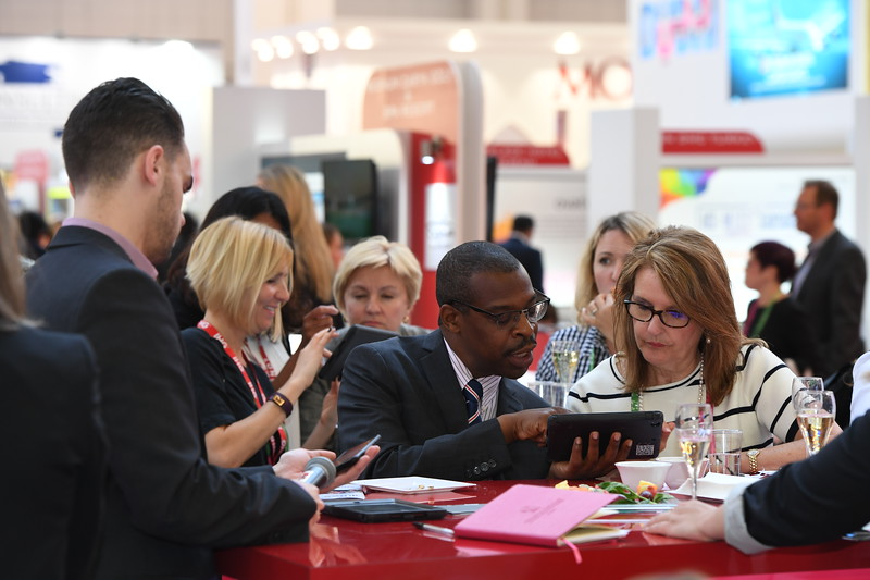 Doing business at IMEX