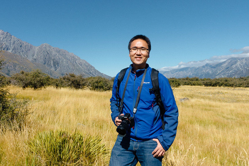 Andrew Suryono in New Zealand