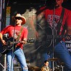 Jason Aldean, country music artist in concert for the HullabaLou Music Festival at Churchill Downs, July 24, 2010.