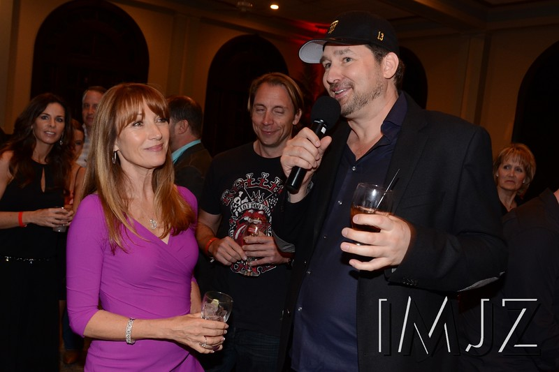 Actress Jane Seymour and professional poker player Phil Hellmuth at the 2013 Derby Poker Tournament. May 2, 2013.