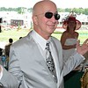 "Paul Shaffer, band leader from ""Late Night with David Letterman"" at Churchill Downs, May 5, 2012."