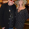 Professional Poker Player Robert Williams and Real Housewife of Orange County Vicki Gunvalson at Churchill Downs in Louisville, KY, on May 4, 2012.
