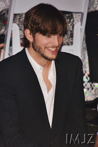 Ashton Kutcher, actor and TV personality, who was shy about posing for the camera, despite being a spokesperson for Nikon, at the Barnstable-Brown Gala. May 4, 2012.