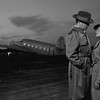 Homage to the film Casablanca.