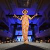 Tana Leggo on the runway for the KDF Fashion Show at Horseshoe Casino Thursday night. March 28, 2014.