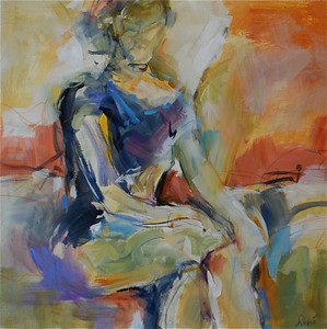 Pose II Repeated-Dupre, 24x24 on canvas JPG