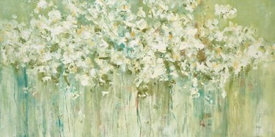 "In Bloom I-Ridgers, 60""x30"" painting on canvas"