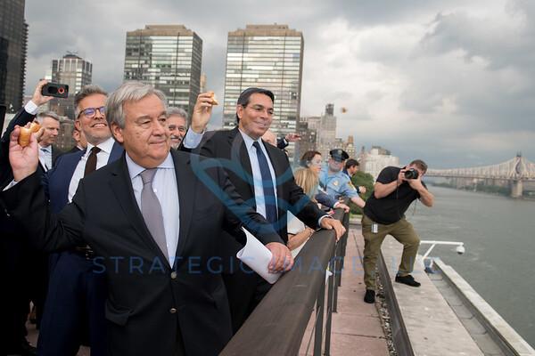 2018 Tashlich ceremony with UNSG António Guterres