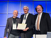 Accepts Bart Berlogie Award on behalf of Giampaolo Merlini, MD speaks during the Bart Barlogie Award and Lecture session