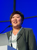 """Yi Lin, MD speaks during the session """"Immuno-Oncology"""""""