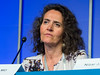 Marta Chesi, MD speaks during the Relapsed Multiple Myeloma session