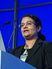 """Chitra Hosing, MD speaks during the session """"Simultaneous Oral Session: Initial Therapy and Transplant"""""""