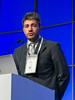 """Mattia D'Agostino, MD speaks during the session """"Simultaneous Oral Session: Initial Therapy and Transplant"""""""