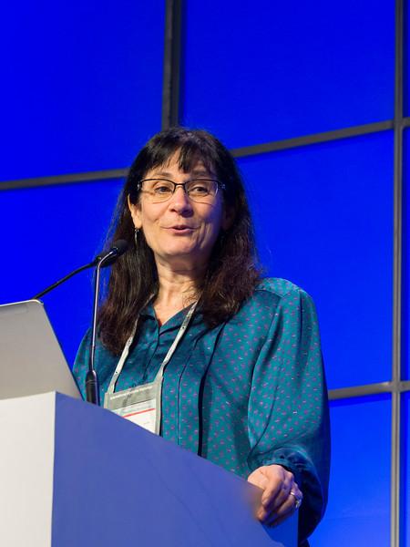 Angela Dispenzieri, MD speaks during the Precursor Disease States session