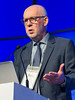 Andrzej Jakubowiak, MD speaks during the High Risk Disease session