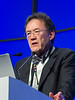 """Philip McCarthy, MD speaks during the session """"Simultaneous Oral Session: Initial Therapy and Transplant"""""""
