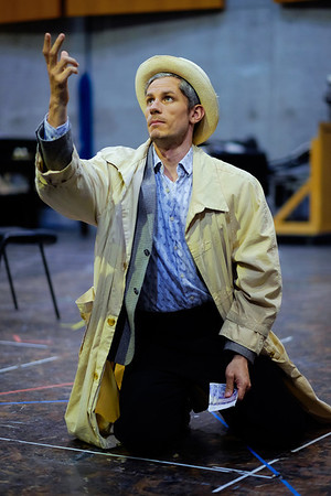 Edwin Crossley-Mercer (Leporello) - Don Giovanni Stage and Studio Rehearsals - Glyndebourne 2014