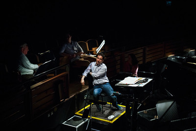 Andres Orozco-Estrada (Conductor) - Don Giovanni Stage and Studio Rehearsals - Glyndebourne 2014