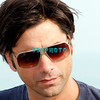 ATLANTIC CITY, NJ - JULY 04:  John Stamos, playing with the Beach Boys does an interview before perfoming for an estimated 50,000 fans in front of the Atlantic City Hilton on July 4, 2008 in Atlantic City, New Jersey.