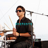 ATLANTIC CITY, NJ - JULY 04:  John Stamos plays drums with the Beach Boys as he performs for an estimated 50,000 fans in front of the Atlantic City Hilton on July 4, 2008 in Atlantic City, New Jersey.