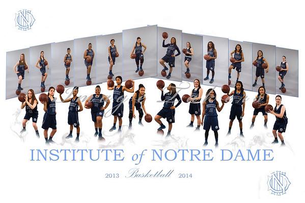2013-2014 IND Basketball Team