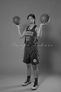 IND Basketball Team_0047 BW