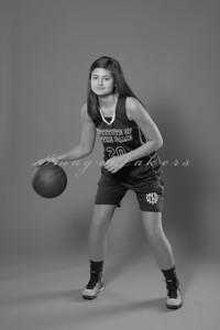 IND Basketball Team_0006 bw