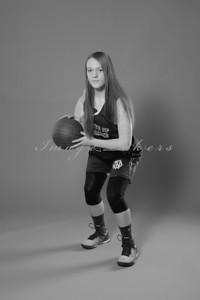 IND Basketball Team_0012 bw