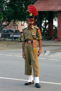 WAGAH LINE - INDIA PAKISTAN BORDER