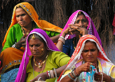 RAJASTHANI LADIES - PUSHKAR
