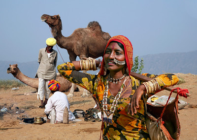 GYPSY GIRL - PUSHKAR