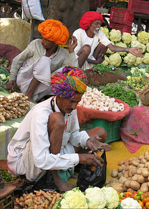 VEGETABLE MARKET - BUNDI