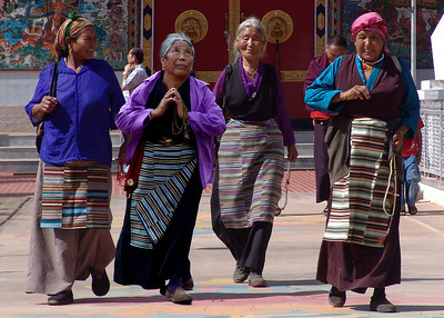 TIBETAN LADIES - TAMIL NADU