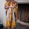 After a Ganges bath at Varanasi
