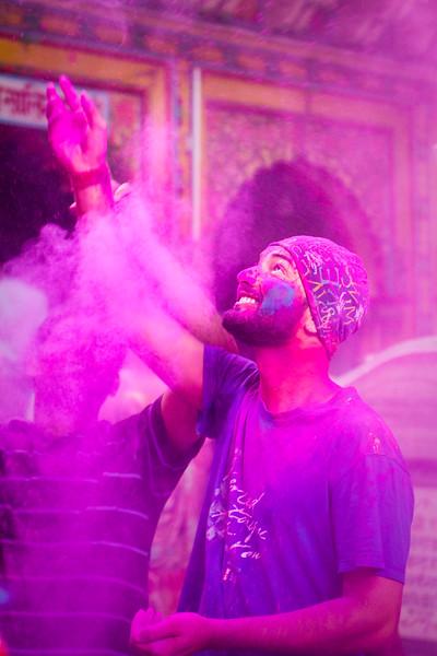 Mathura mayhem during Holi