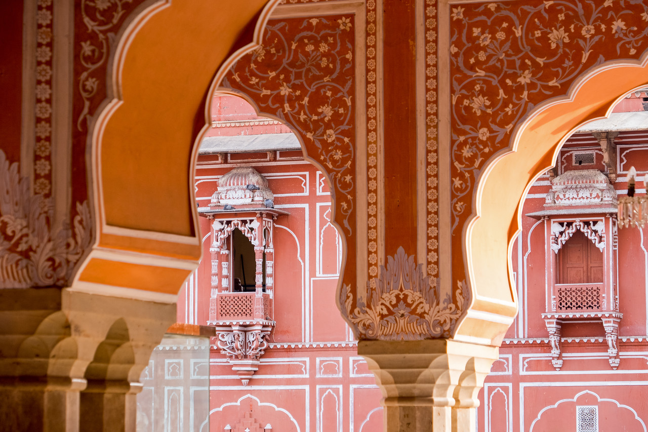 In the Pink City