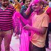 Holi celebrants