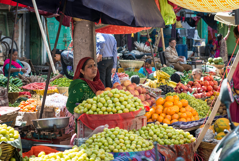 Market midday