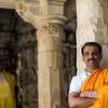 Proud Hindu priest