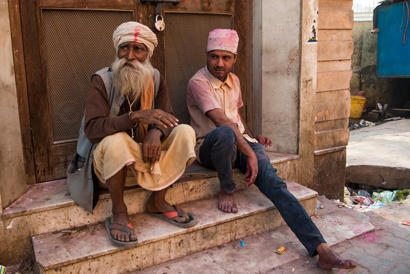 Holi paraders